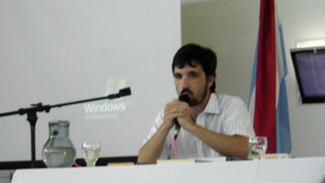 Adrián Pino expondrá en el Encuentro