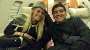 Maradona aclaró lo que pasó en el hotel con Rocío