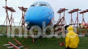 Despistó un avión en Ezeiza