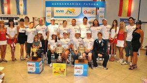 Ellos desafiarán la Hernandarias-Paraná