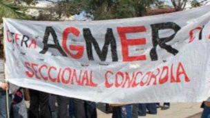 AGMER Concordia propone 5 días de paro