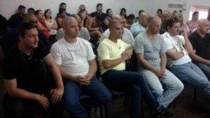 Policías detenidos pidieron prisión domiciliaria o su traslado a Concordia