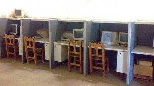 Atrapado en la sala de informática
