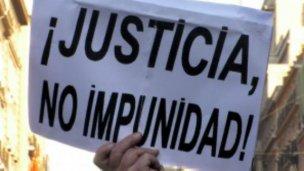 Asamblea abierta exigiendo justicia