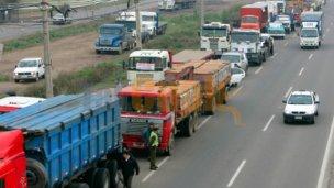 Peligra el abastecimiento de combustibles por el paro