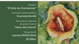 """Inauguran la muestra """"El Arte de Humanizar"""""""