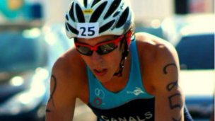 Triatleta entrerriano, camino a Dallas