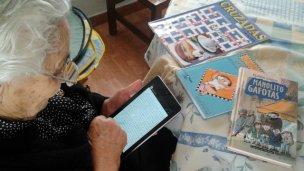 Ibirapitá: tablets para los abuelos