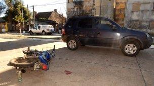 Grave accidente en calles concordienses
