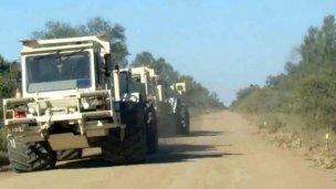 En alerta por camiones vibradores