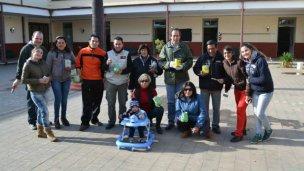 Se realizó la jornada solidaria en la Escuela Nº 43