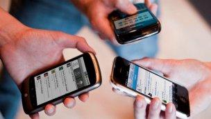 Secuestro de celulares en un allanamiento