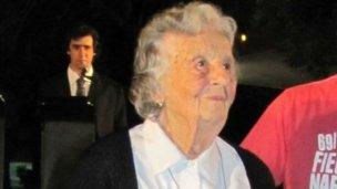 Nélida celebró sus 101 años