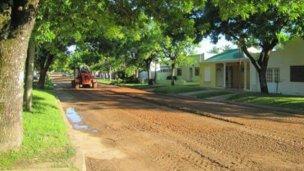 Las calles después de la lluvia