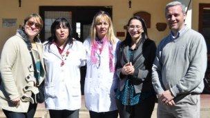 Canali se reunió con directivos de escuelas