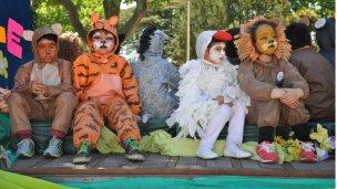 Teatro infantil en las plazas