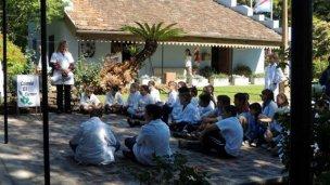 Estudiantes rurales conocieron el museo de Villa Elisa