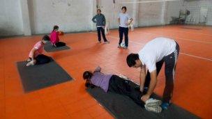 El Deporte Adaptado entrena para los Juegos Evita