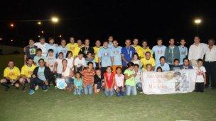 Se realizó un partido de fútbol a beneficio de la Asociación Mis Soles