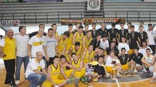 Zaninetti se consagró subcampeón Nacional U17