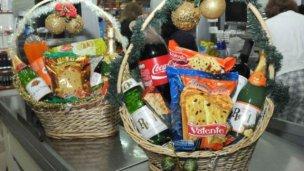 Las tres ofertas de canastas navideñas para estas fiestas