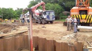 Avanzan con nuevas obras estructurales en La Toma