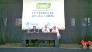 La Fragua participó del Foro por una Ley Federal de Las Culturas