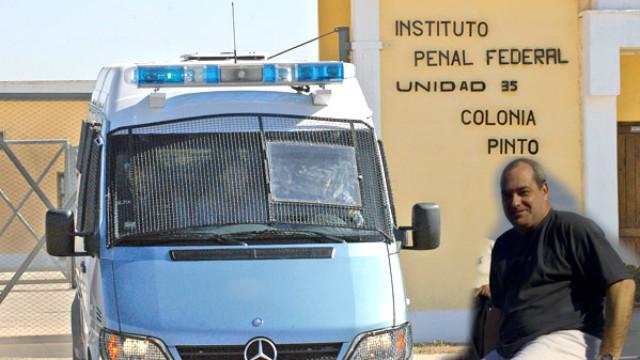 Acosta, preso a 418 km de Paraná.