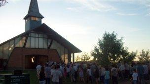 Celebran a Francisco de Sales en su capilla