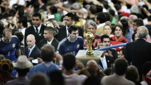 Messi, premiado por ver la Copa