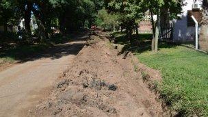 Trabajos de mejoras sobre el Boulevard Gaillard