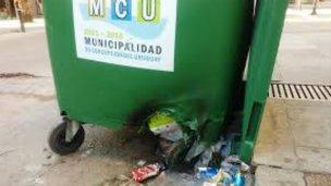Quema de contenedores en nuestra ciudad