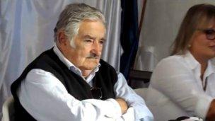 Una mujer escrachó a Pepe Mujica