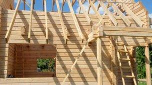 Será el primer barrio de viviendas de madera en la provincia