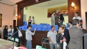 Se entregan netbooks en el Colegio