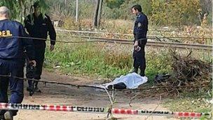 El asesinado, con delitos en su haber