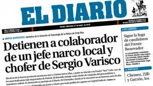 Narcos choferes: de Urribarri a Varisco
