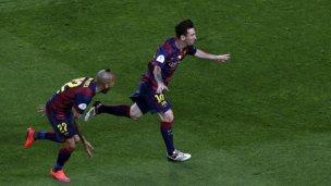 Messi, de nuevo: golazo en la final