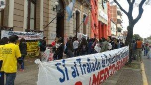 Militantes anti fracking, inocentes