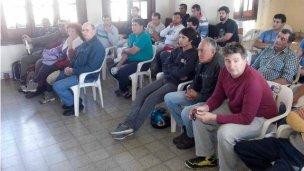 40 personas se capacitan en Pesca Deportiva