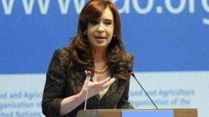 Argentina tiene 2 millones de pobres, según CFK