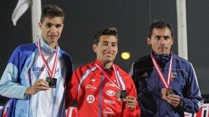 Otra medalla de bronce para Bruno
