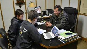 Alumnos de la EET Nº 1 entrevistaron al intendente