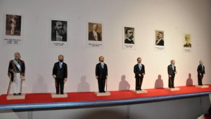 Los Presidentes de la Democracia, en el museo