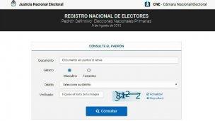 El padrón electoral, a un clic de distancia