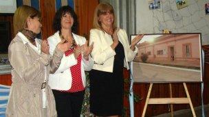 Inauguraron extensión áulica en Villa Domínguez