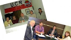 UCR: El comité con Niez y Greco con Cresto