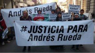 La justicia halló culpable al Estado del asesinato de Rueda