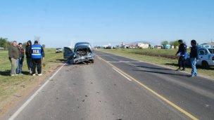 Otro accidente en la Ruta 39