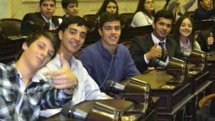 Integró el Parlamento Juvenil del Mercosur